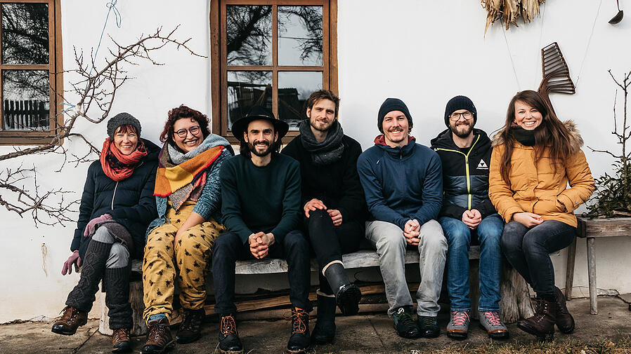 Teamfoto von Organic Tools
