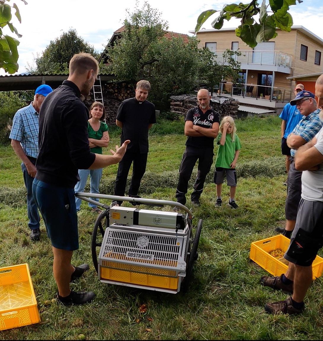 Vorstellung Obstsammelgerät von Organic Tools